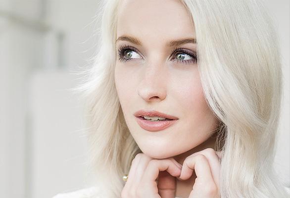 El look de maquillaje de Victoria