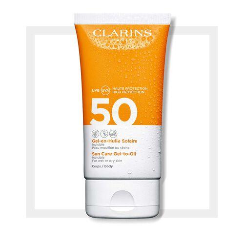 Gel-Aceite Solar para el cuerpo SPF50
