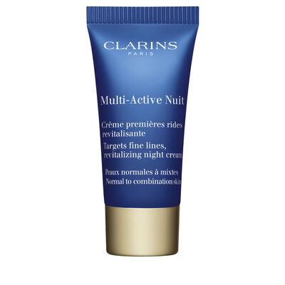 Multi-Active Noche Crema Ligera para pieles normales a mixtas 5ml