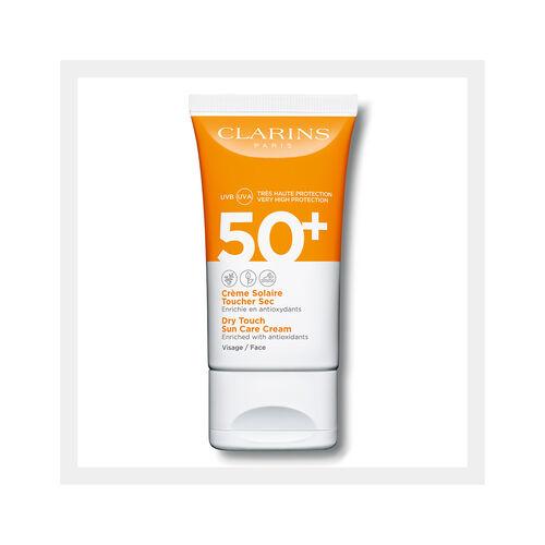 Crema Solar Tacto Seco UVA/UVB 50+ Rostro