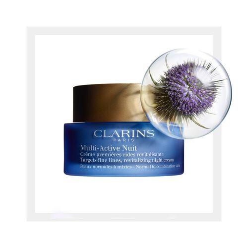 Multi-Active Noche Crema Ligera para pieles normales a mixtas