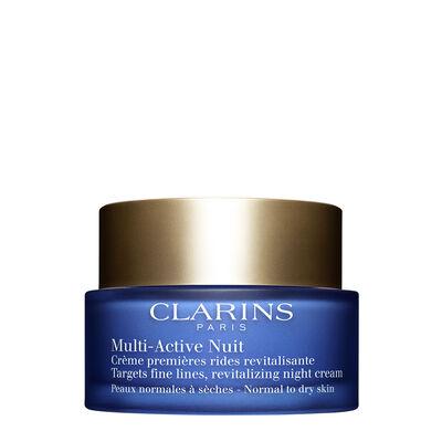 Multi-Active Noche Crema Confort para pieles normales a secas
