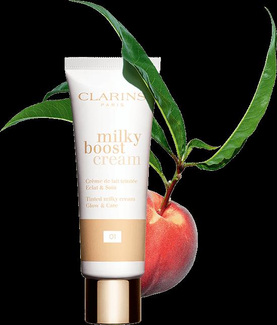Foto de producto Milky Boost Cream con melocotón