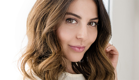 El look de maquillaje de Simply Sona