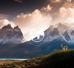 Fotografía de montañas