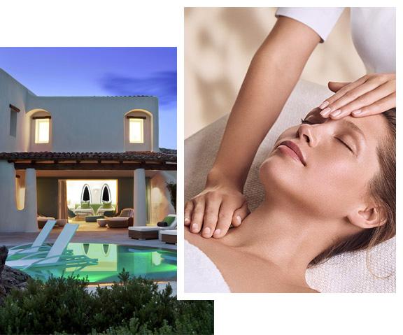 Imagen de un Spa by, Mujer que recibe un masaje de una terapeuta
