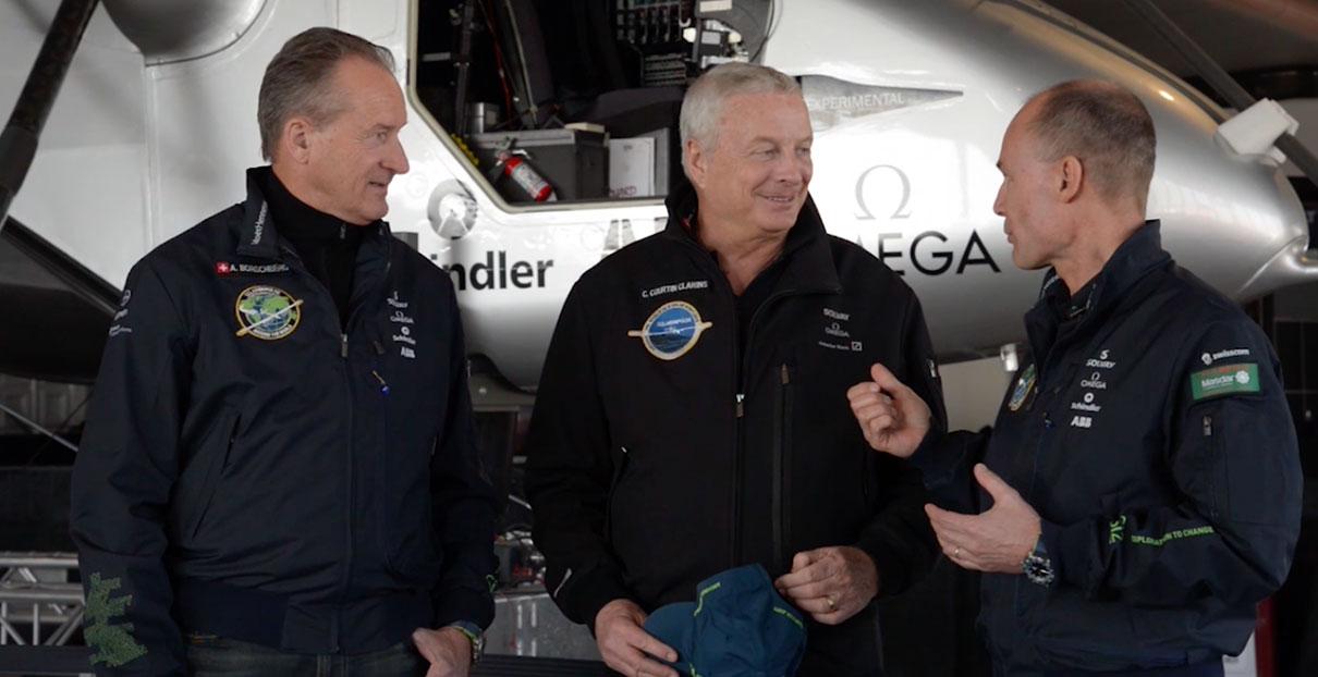 vidéo Solar Impulse et Clarins #FutureIsClean : ensemble pour un futur propre.