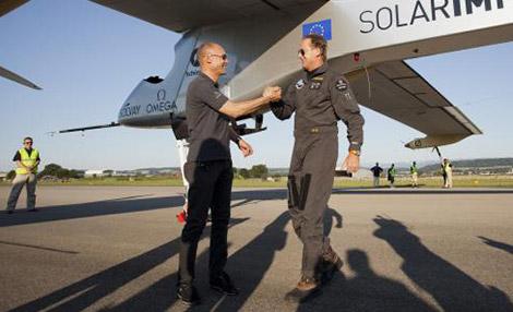 pilotes Solar Impulse 2