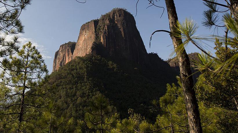 Paisaje de una montaña