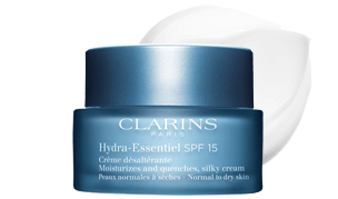 Crème désaltérante SPF 15 para pieles normales a secas